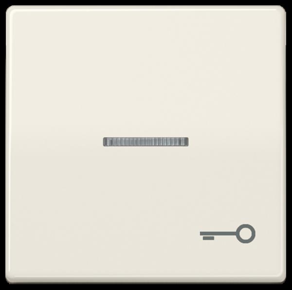 """JUNG ABAS591KO5T Kontroll-Wippe mit Symbol """"Schlüssel"""" Cremeweiß"""