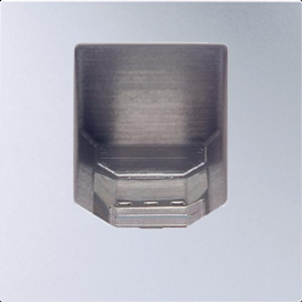 JUNG ABIS50AL Biometrisches Ident-System Aluminium