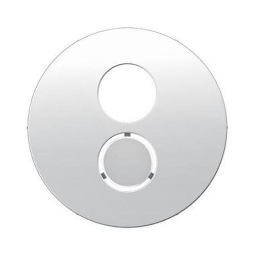 Berker 11962089 Zentralstück für Lautsprecher-Steckdose R.1/R.3 Polarweiß, Glänzend