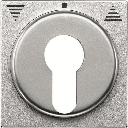 Merten 319360 Zentralplatte Schlüsselschalter Aluminium