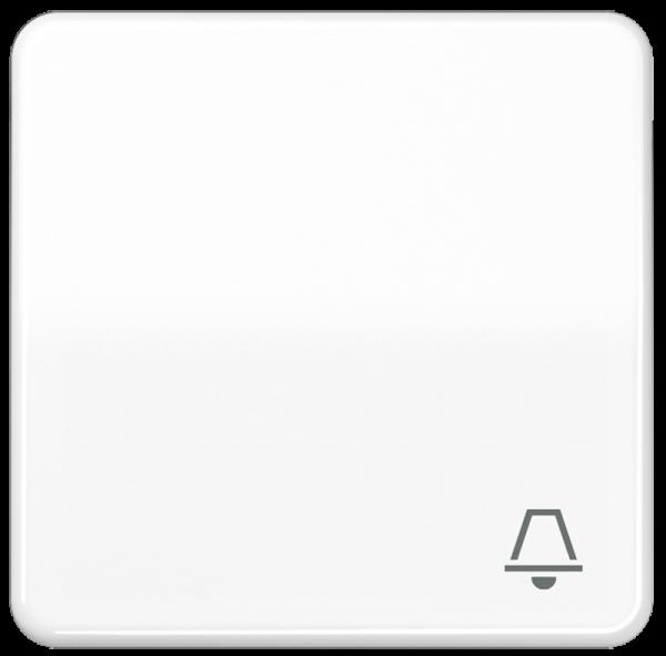 "JUNG CD590KWW Wippe mit Symbol ""Klingel"" Alpinweiß"
