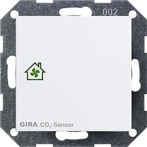 GIRA 238127 Raumluftsensor Reinweiß-Seidenmatt