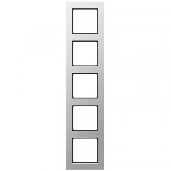 JUNG AC585AL Rahmen 5-Fach Aluminium