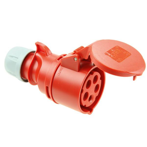 PCE 2351-6 CEE Kupplung 63A 5-Polig 6h TWIST IP44 CEE Stecker CEE Kupplung