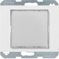 Berker 29537009 LED-Signallicht, weiße Beleuchtung K.1 Polarweiß, Glänzend