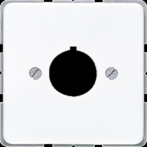 JUNG CD564WW Abdeckung Befehlsgeräte Alpinweiß