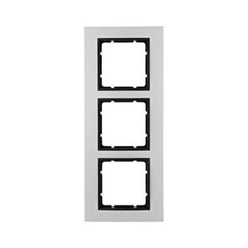 Berker 10136904 Rahmen 3Fach B.7 Alu/Anthrazit