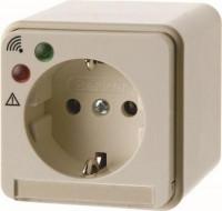 Berker 400641 Steckdose SCHUKO mit Überspannungsschutz Aufputz Weiß, Glänzend