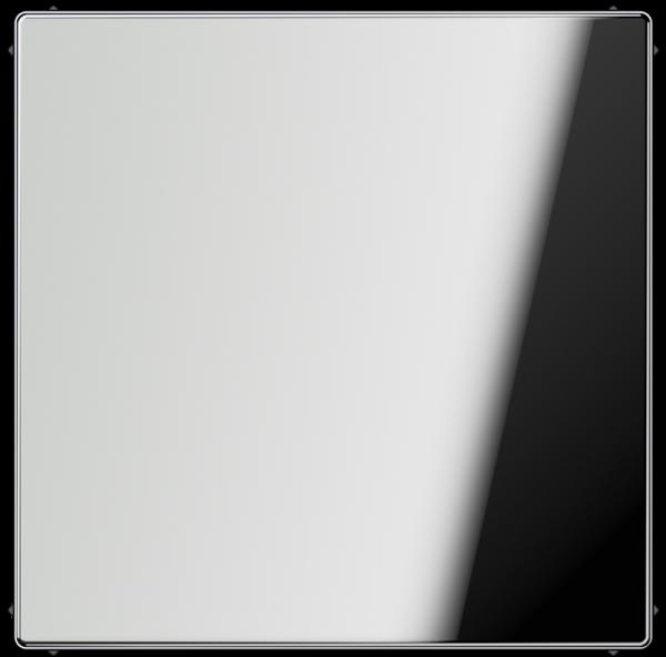 JUNG GCR2994B Blind-Abdeckung mit Tragring Glanz-Chrom
