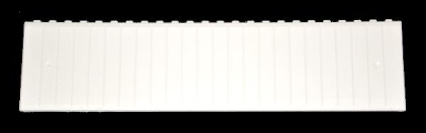 Tehnoplast Abdeckstreifen Weiß