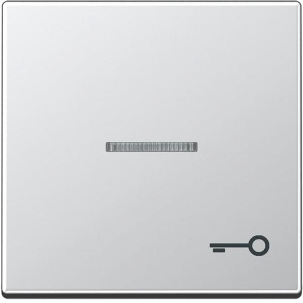 """JUNG A590KO5TAL Kontroll-Wippe mit Symbol """"Tür"""" Aluminium"""