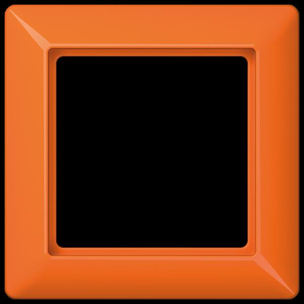 JUNG AS581BFO Rahmen 1-Fach Orange