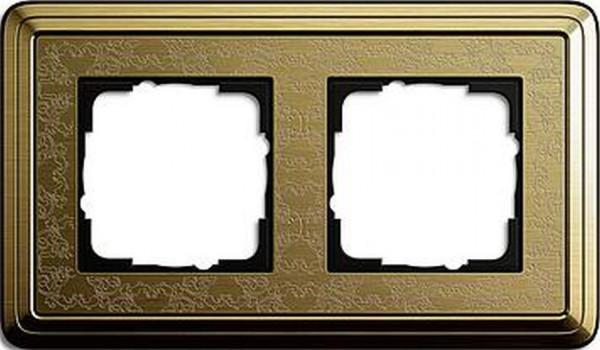 GIRA 0212661 Rahmen 2-Fach ClassicX Art Bronze