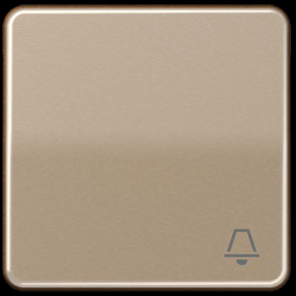 "JUNG CD590KGB Wippe mit Symbol ""Klingel"" Gold-Bronze"
