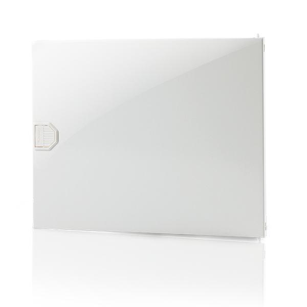 F-Tronic 7220048 Tür Kunststoff Vision, 1-Reihig, weiß