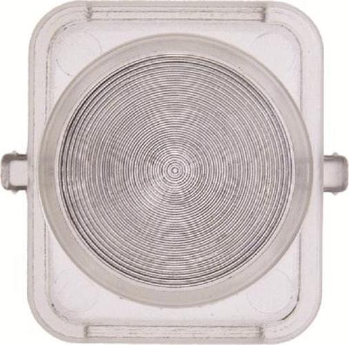 Berker 1221 Haube für Drucktaster und Lichtsignal E10 1930/Glas/Palazzo Klar Transparent