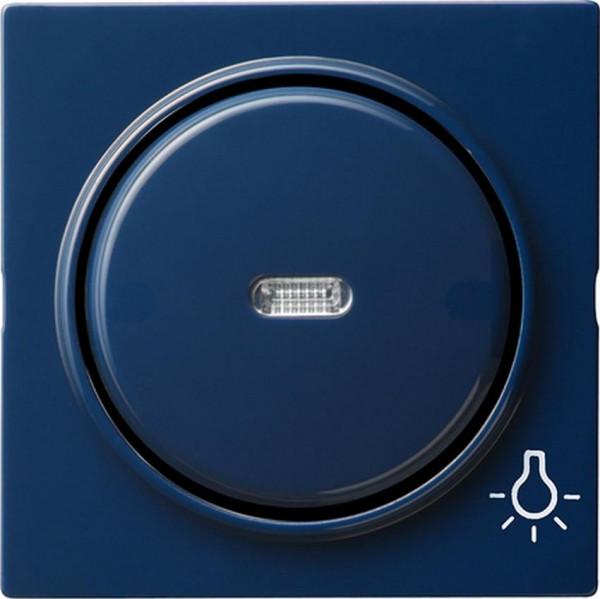 "GIRA 028546 Kontroll-Wippe mit Symbol ""Licht"" Blau"