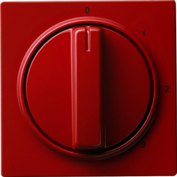 GIRA 066943 Abdeckung 3-Stufenschalter Rot