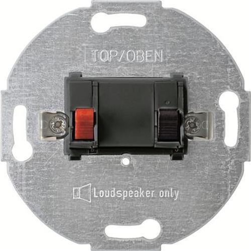 Merten 466914 Lautsprecher-Anschluss-Einsatz Mono Anthrazit