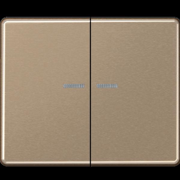 JUNG SL595KO5GB Kontroll-Serien-Wippe Gold-Bronze