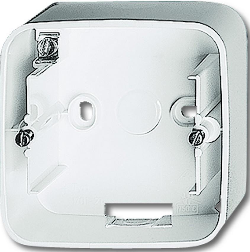 busch jaeger aufputz geh use 1fach steckdosen24. Black Bedroom Furniture Sets. Home Design Ideas