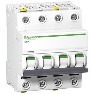 Schneider A9F04410 Leitungsschutzschalter C 10A-6kA-iC60N-4Polig