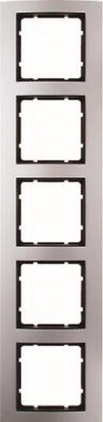 Berker 10153004 Rahmen 5Fach B.3 Alu/Anthrazit