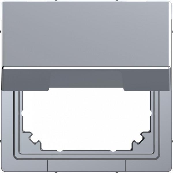 Merten MEG4081-6036 Adapter mit Klappdeckel für Einsätze Edelstahl