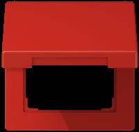 JUNG LS990BFKLRT Klappdeckel Rot