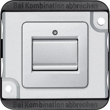 Merten MEG3117-7060 Kreuzschalter Mattsilber