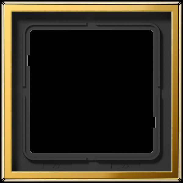 JUNG GO2981 Rahmen 1-Fach LS-Serie Goldfarben