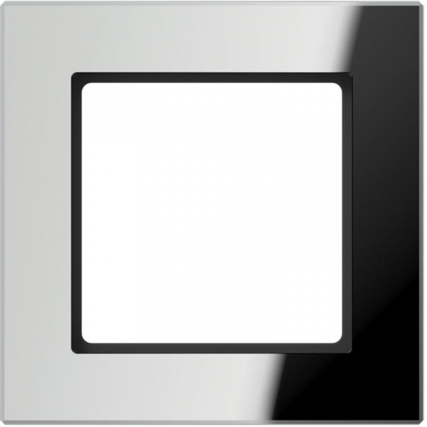 JUNG AC581GLSI Glasrahmen 1-Fach Silber