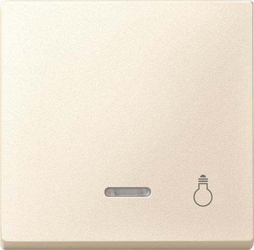 """Merten 430944 Kontroll-Wippe mit Symbol """"Licht"""" Weiß"""