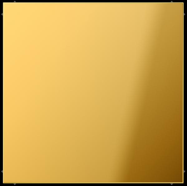 JUNG GO2994B Blind-Abdeckung mit Tragring Goldfarben