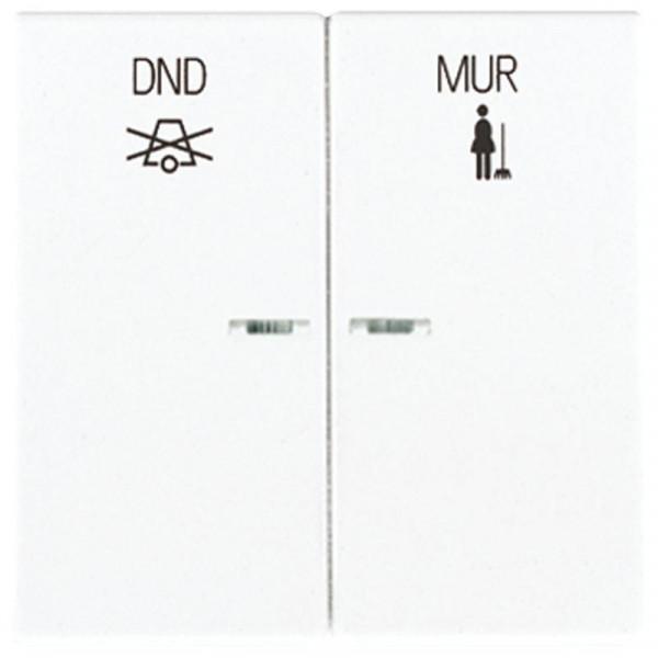 JUNG LS995KO5WW-1675 Hotel-Display mit Symbolen