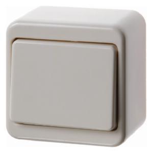 Berker 300640 Wippschalter Aufputz Weiß, Glänzend