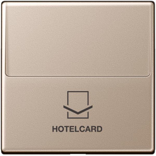 JUNG A590CARDCH Hotelcard-Schalter Champagner
