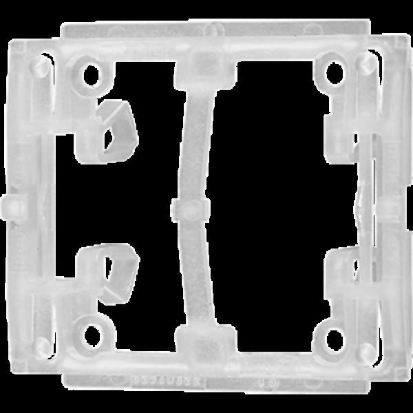 JUNG SL95HP Halteplatte für geteilte Wippe Transparent