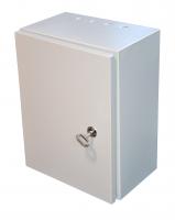 Schaltschrank Metallgehäuse 300x400x200 Grau IP54