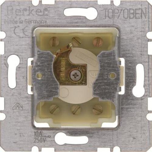 Berker 383210 Jalousie-Schlüsseltaster für Profil-Halbzylinder Modul-Einsätze