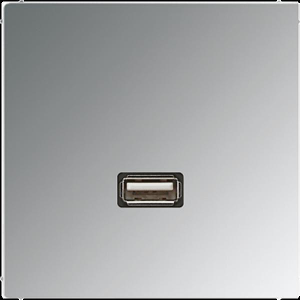 JUNG MAGCR1122 USB2.0 Glanz-Chrom