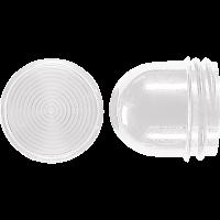 JUNG 37 Schraubhaube für Leuchtmittel 54mm Klar