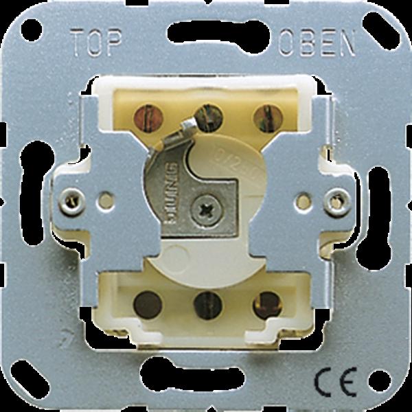 JUNG CD133.18WU Schlüsseltaster mit Demontageschutz