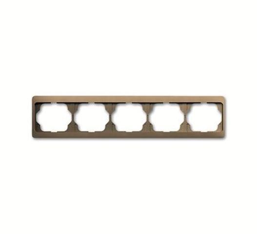Busch-Jaeger 1725KA-21 Rahmen 5-Fach Waagerecht Bronze