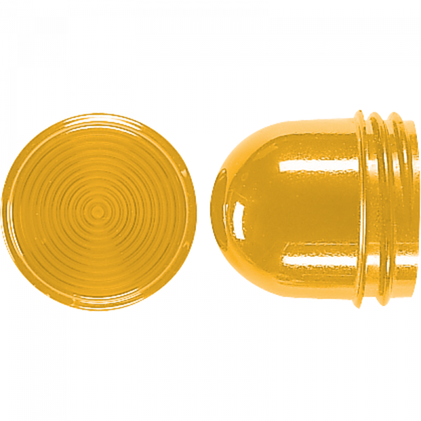 JUNG 37GE Schraubhaube für Leuchtmittel 54mm Gelb