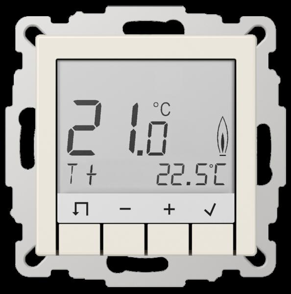 JUNG TRDA231 Raumtemperaturregler Standard mit Display Cremeweiß