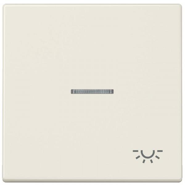 """JUNG LS990KO5L Kontroll-Wippe mit Symbol """"Licht"""" Creme-Weiß"""