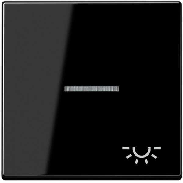 """JUNG A590KO5LSW Kontroll-Wippe mit Symbol """"Licht"""" Schwarz"""