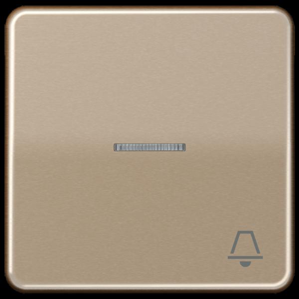 """JUNG CD590KO5KGB Kontroll-Wippe mit Symbol """"Klingel"""" Gold-Bronze"""