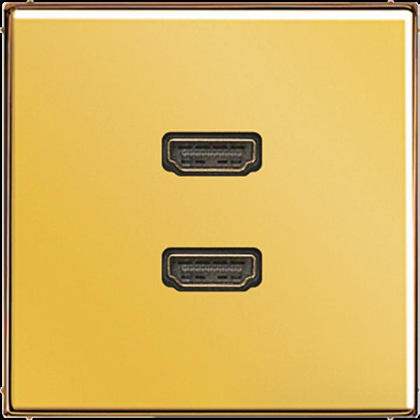 JUNG MAGO1133 2xHDMI Goldfarben